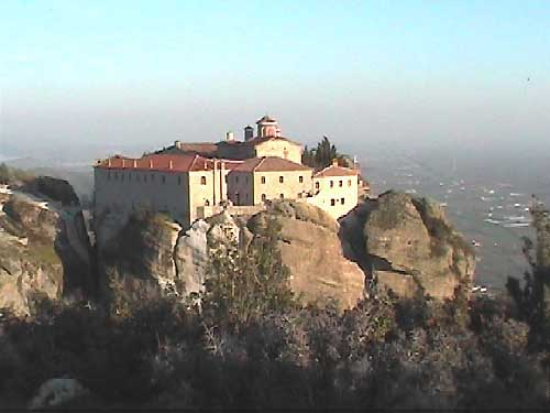 The Monastery of St. Stephen in Meteora Greece